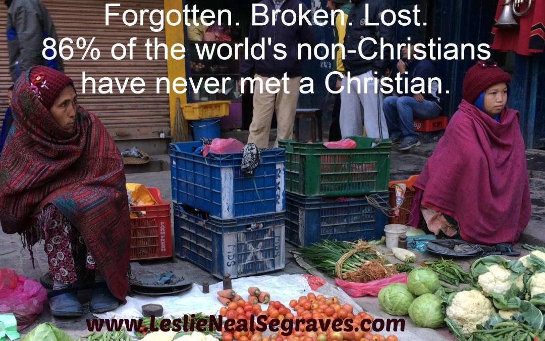 Forgotten, Broken, and Lost.