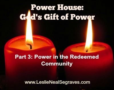 Power in the Redeemed Community