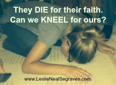 Light-Bearing: Kneeling For the Joy Set Before Us