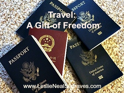 Travel – A Gift of Freedom