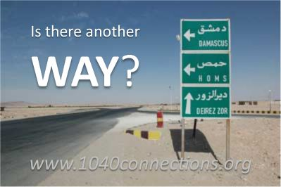 On the Road to Damascus – Another Way?