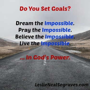 Do You Set Goals?
